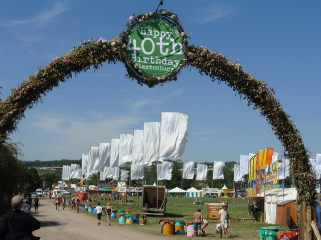 Glastonbury festival is celebrating its 40th birthday, running annually since 1970.