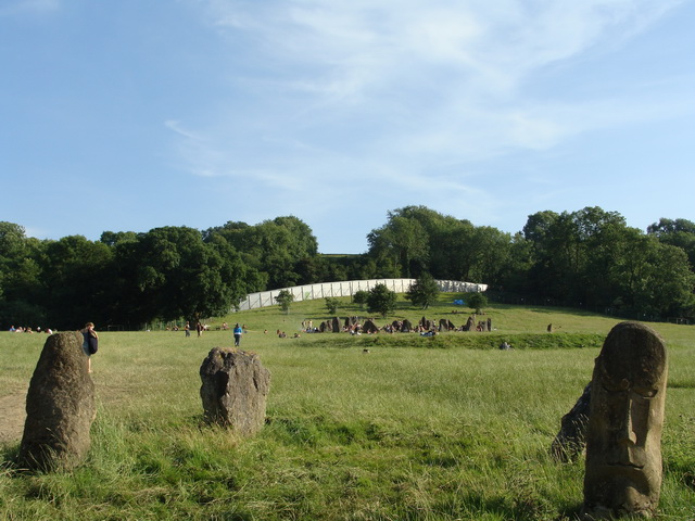 This ancient stone circle is within the grounds.